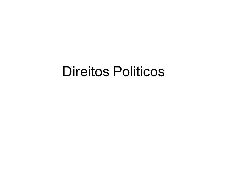 Direitos Politicos