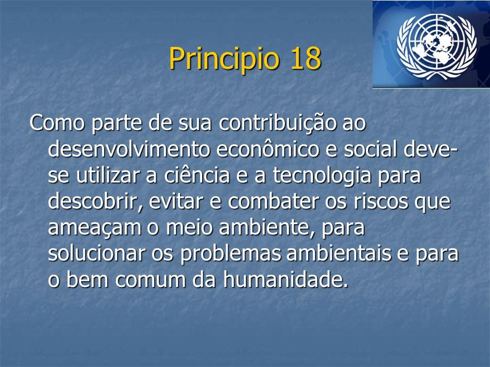 Principio 18