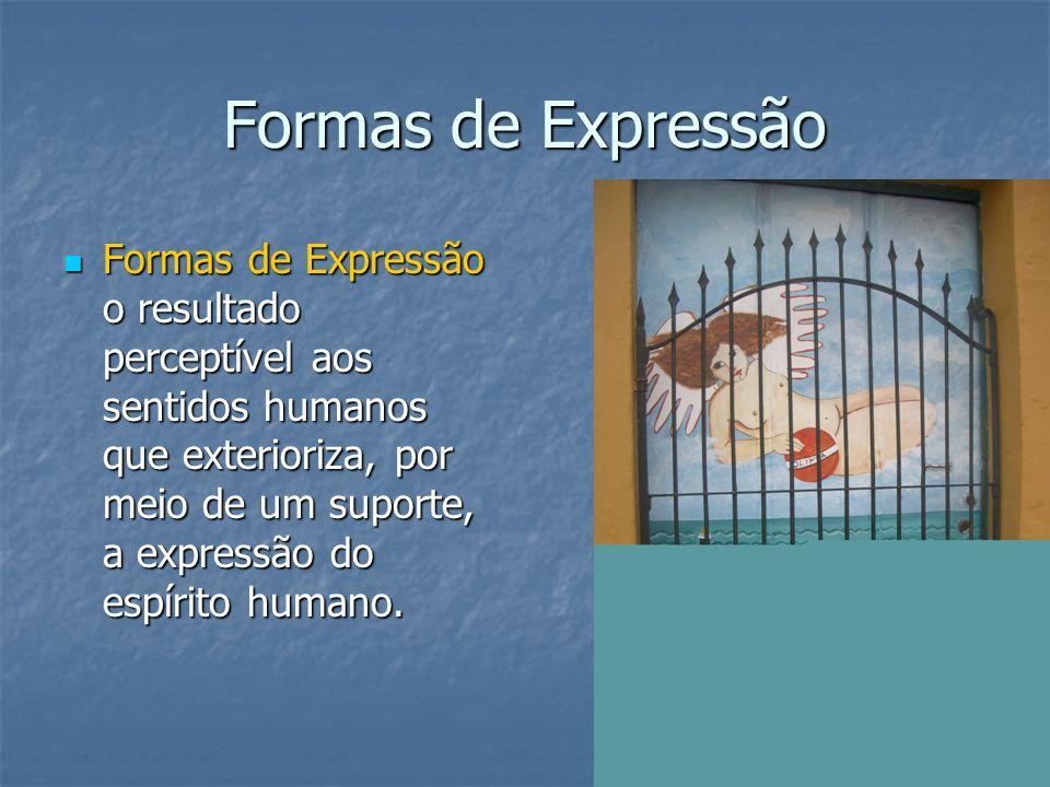 Formas de Expressão