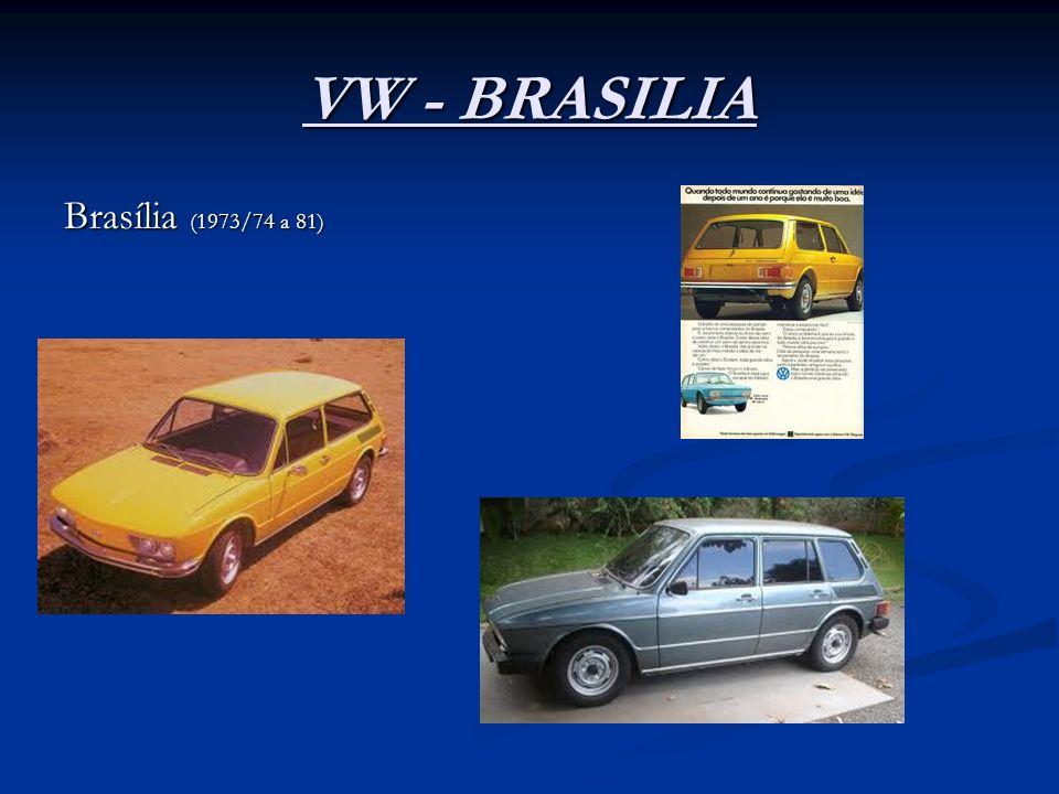 VW - BRASILIA Brasília (1973/74 a 81)