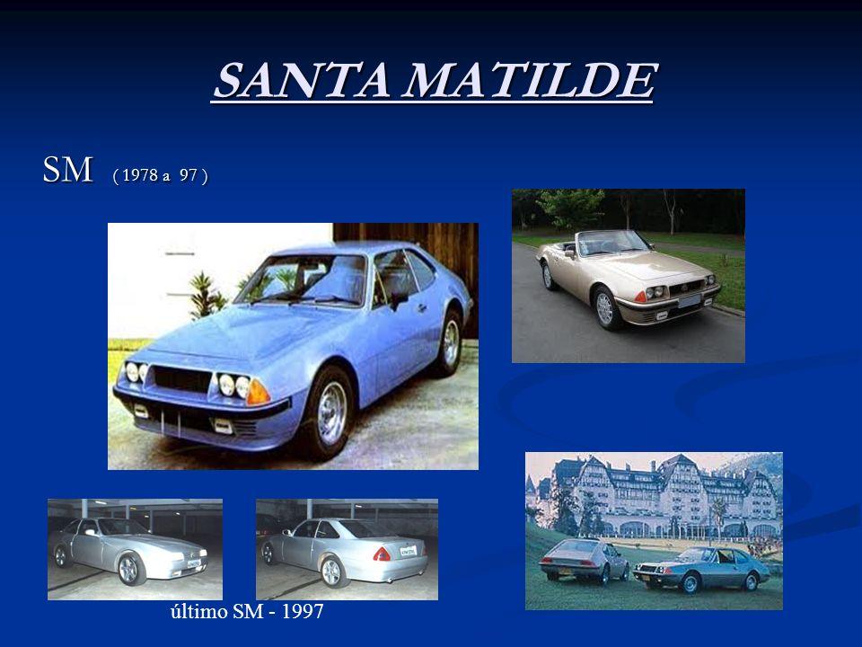 SANTA MATILDE SM ( 1978 a 97 ) último SM - 1997