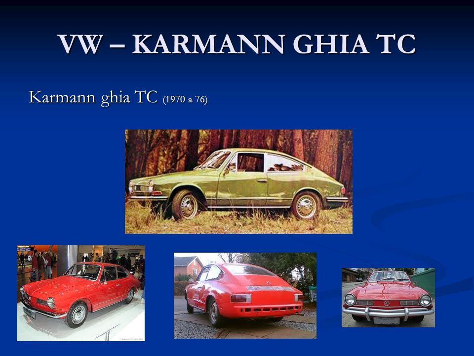 VW – KARMANN GHIA TC Karmann ghia TC (1970 a 76)