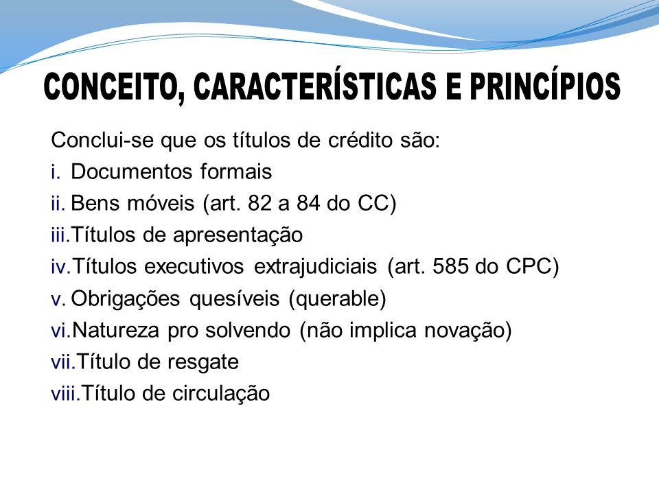 CONCEITO, CARACTERÍSTICAS E PRINCÍPIOS
