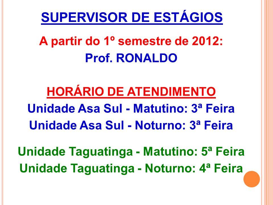 SUPERVISOR DE ESTÁGIOS