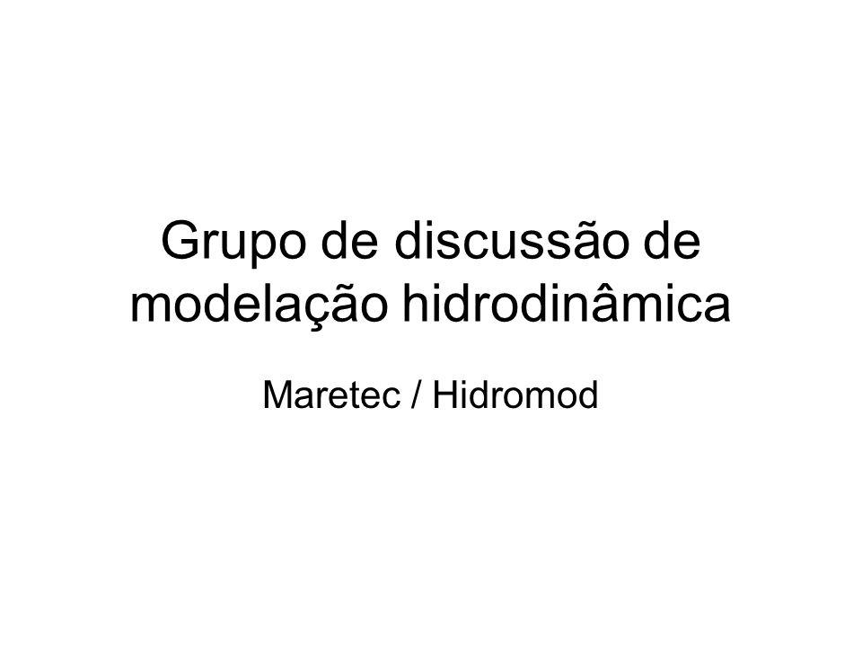 Grupo de discussão de modelação hidrodinâmica