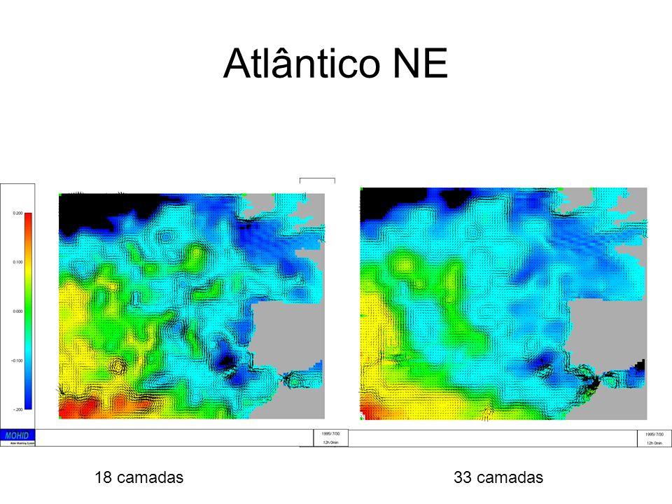 Atlântico NE 18 camadas 33 camadas