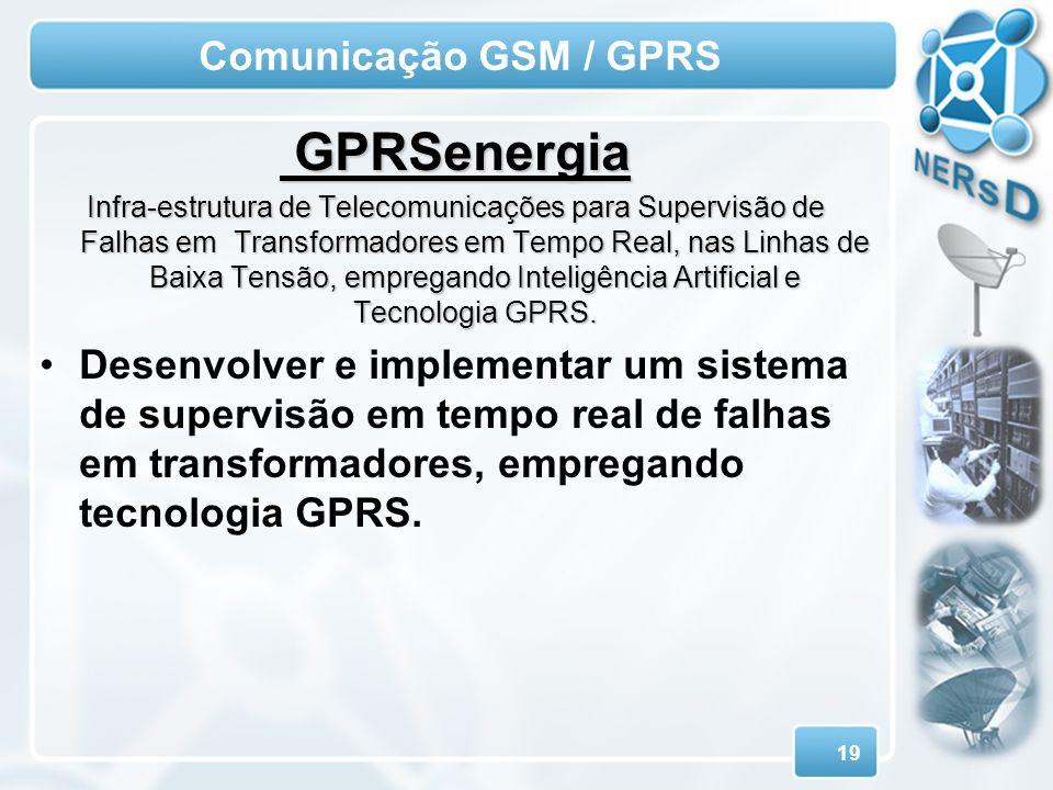 GPRSenergia Comunicação GSM / GPRS