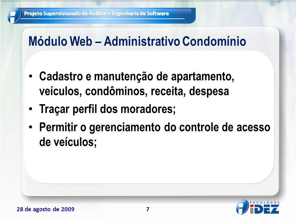 Módulo Web – Administrativo Condomínio