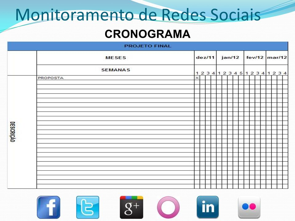 Monitoramento de Redes Sociais