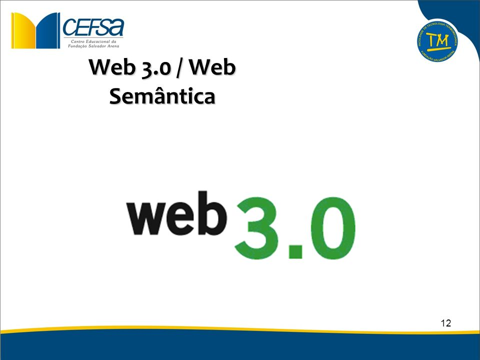 Web 3.0 / Web Semântica