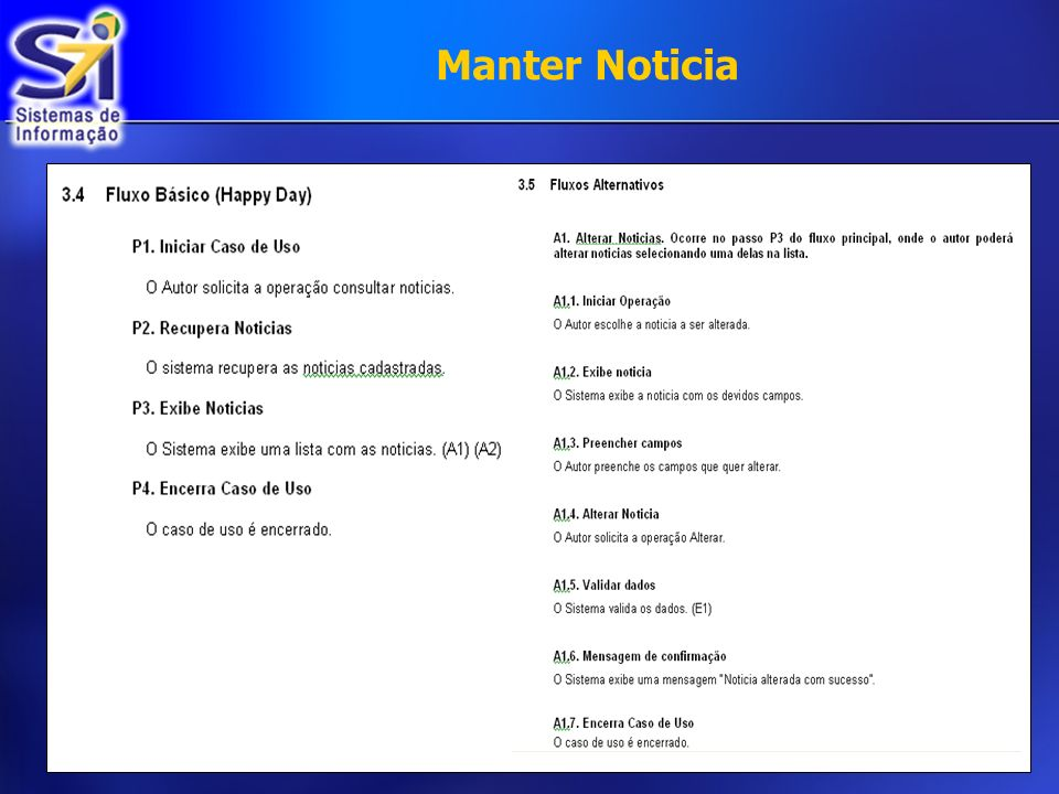 Manter Noticia €