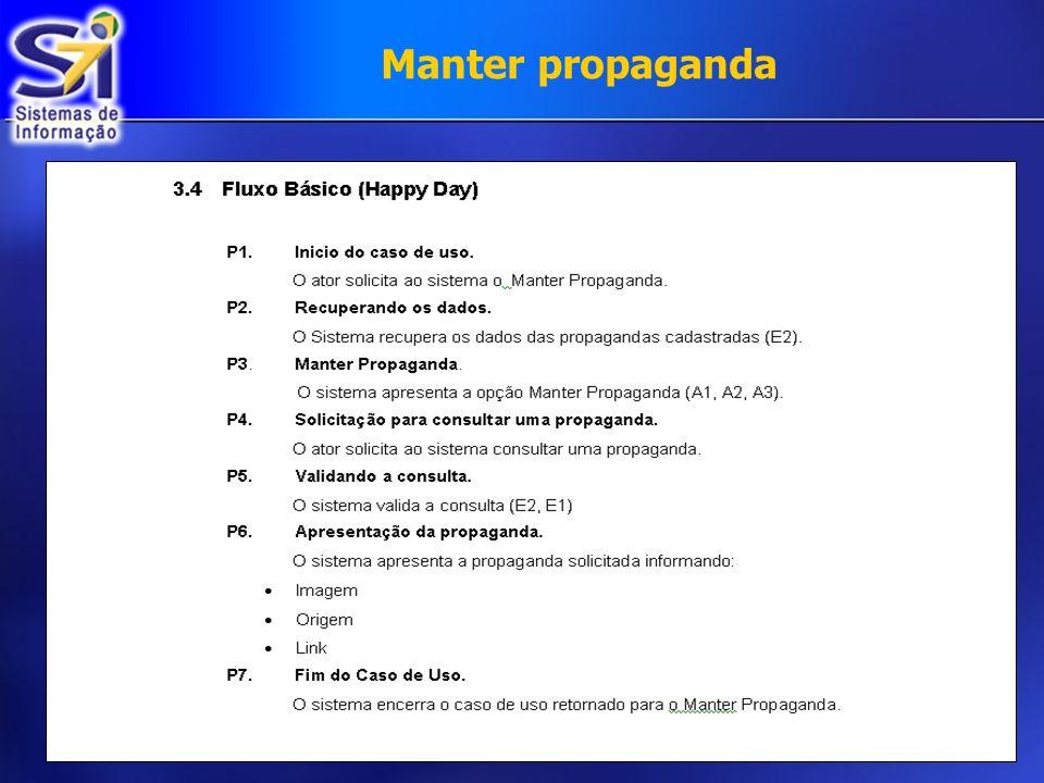 Manter propaganda €
