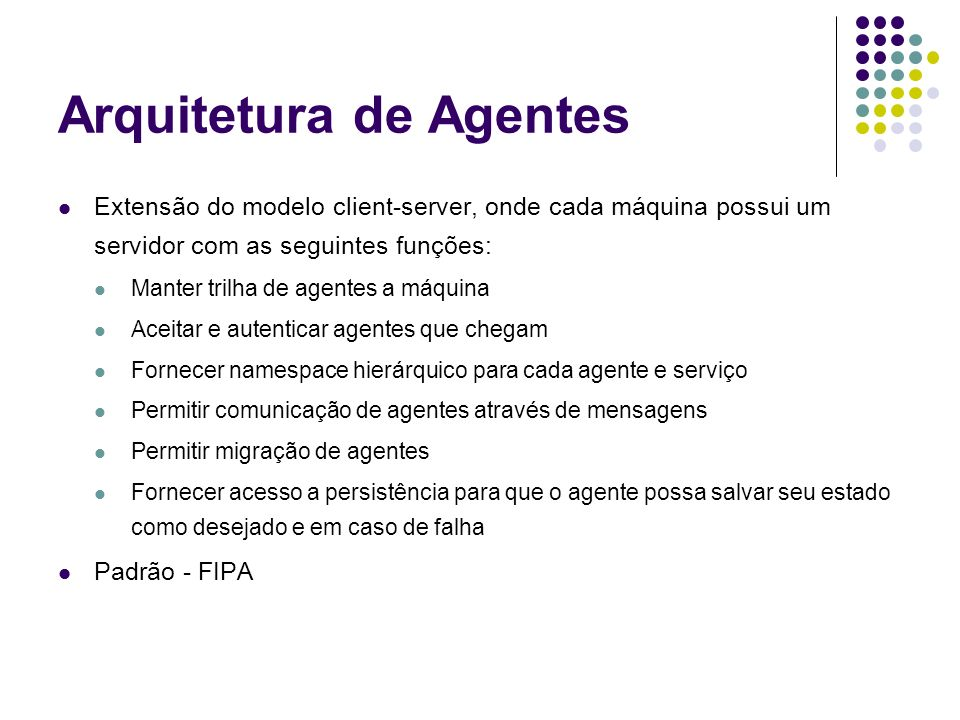 Arquitetura de Agentes