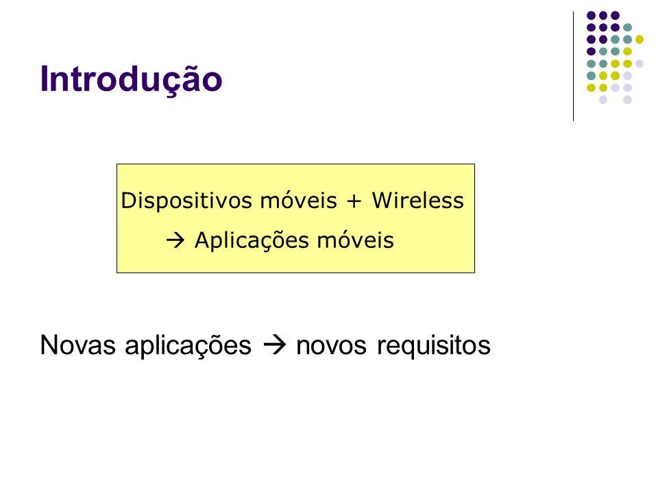 Dispositivos móveis + Wireless