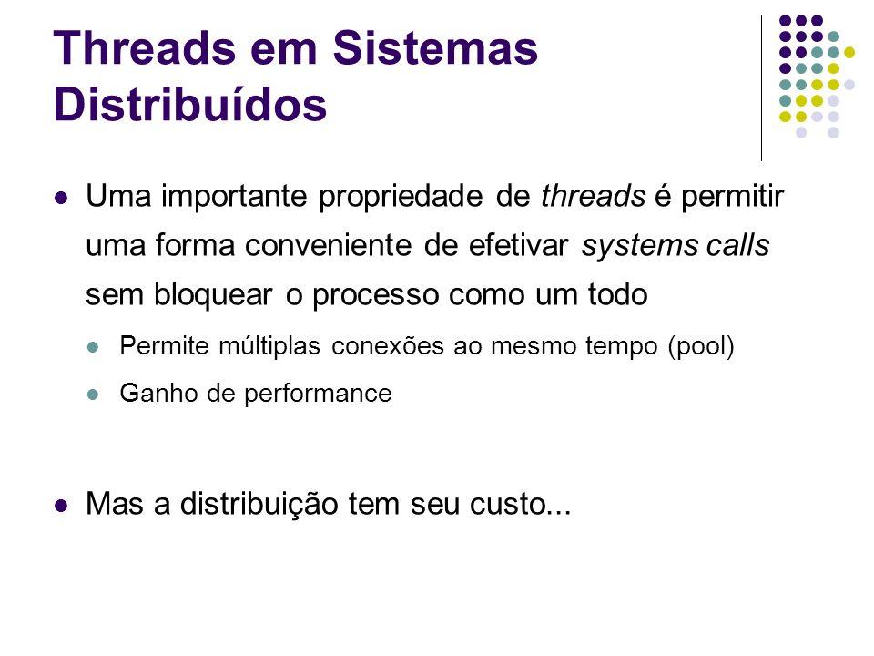 Threads em Sistemas Distribuídos