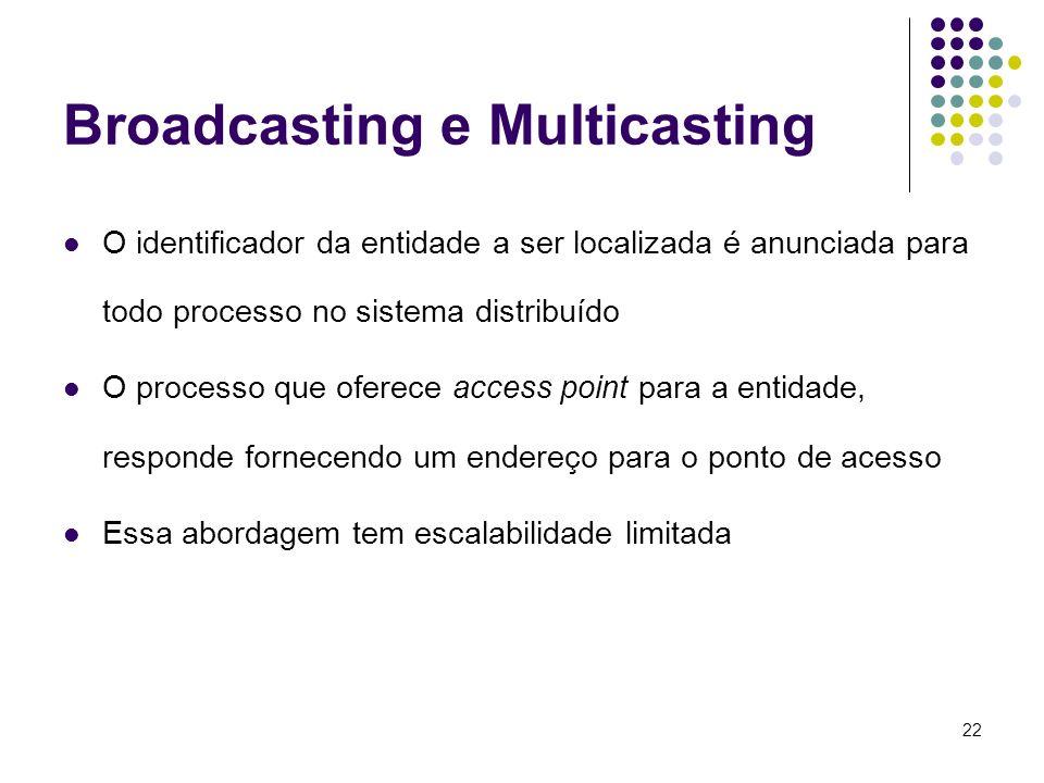 Broadcasting e Multicasting