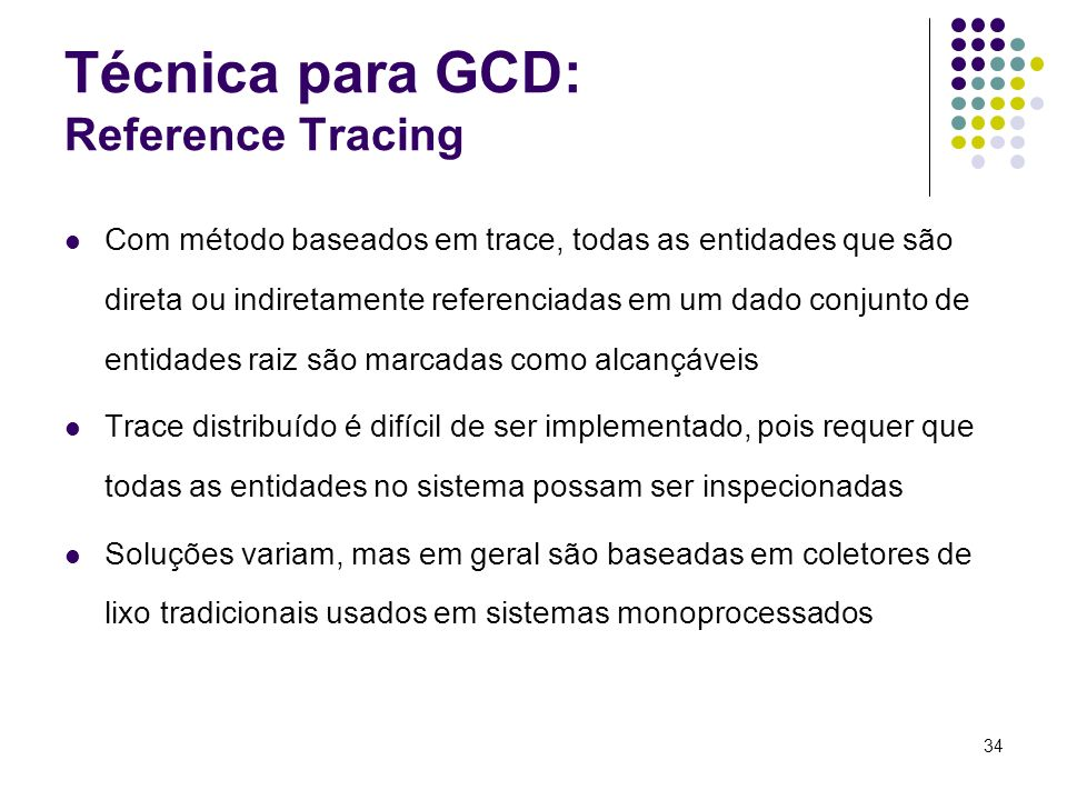 Técnica para GCD: Reference Tracing