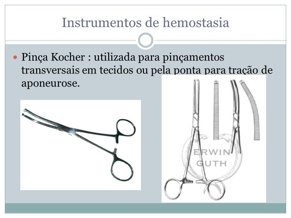 Instrumentos de hemostasia