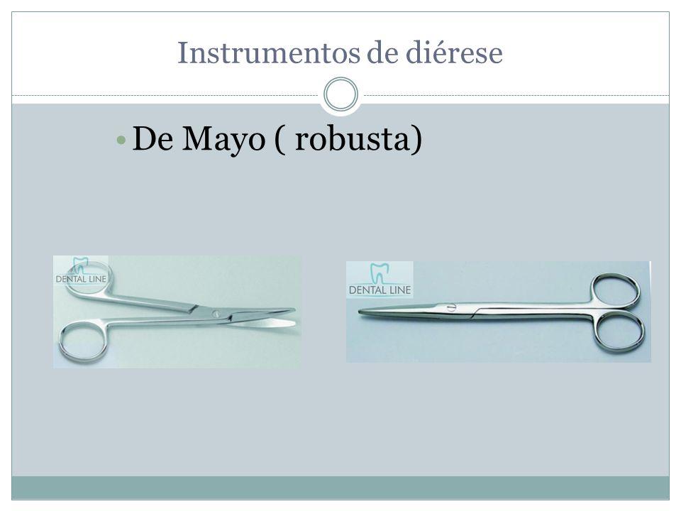 Instrumentos de diérese