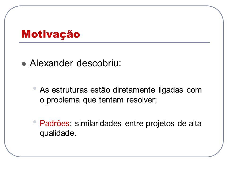 Motivação Alexander descobriu:
