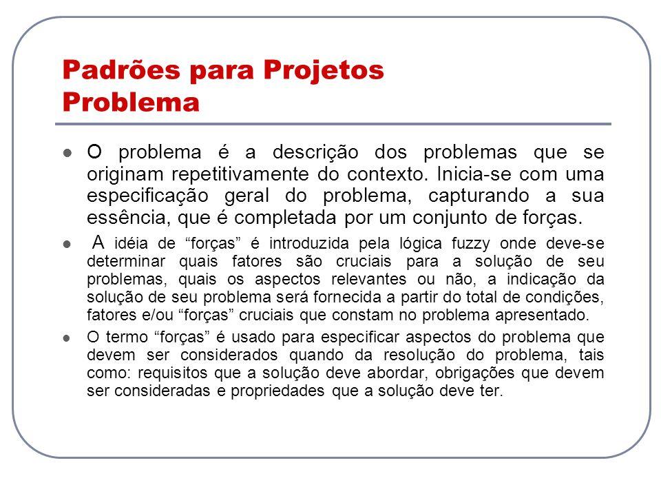 Padrões para Projetos Problema