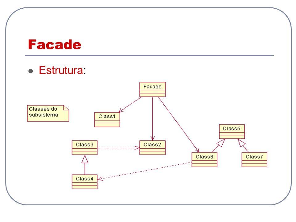 Facade Estrutura: