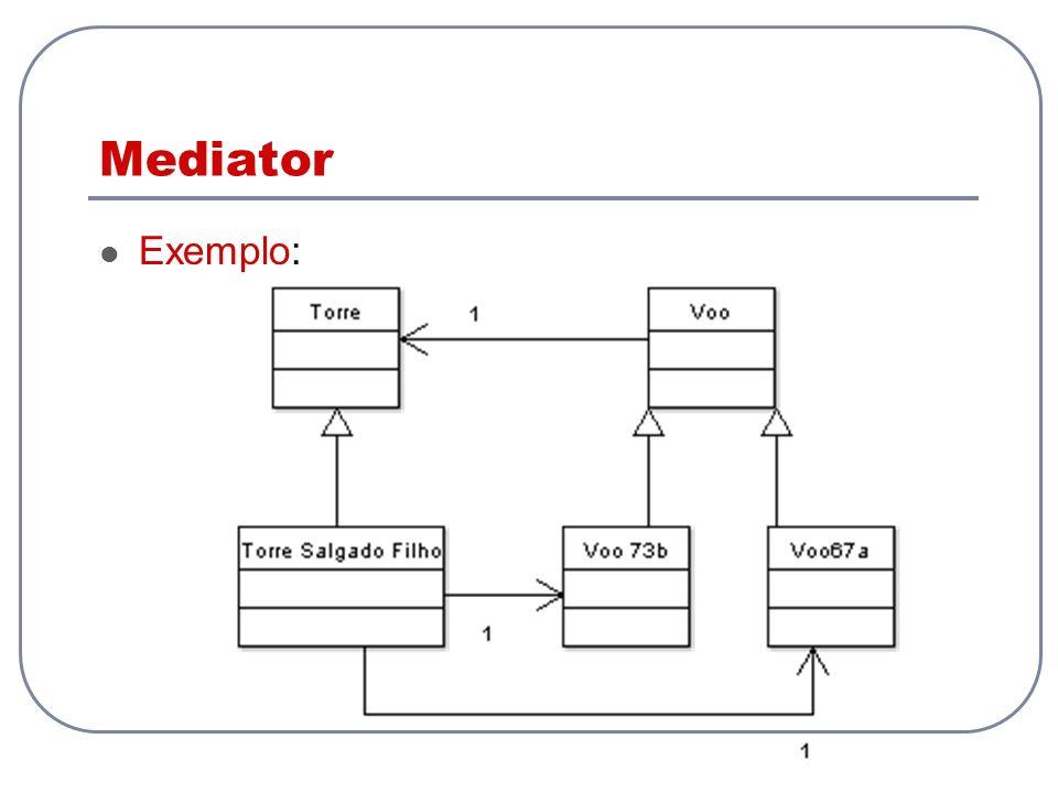 Mediator Exemplo: