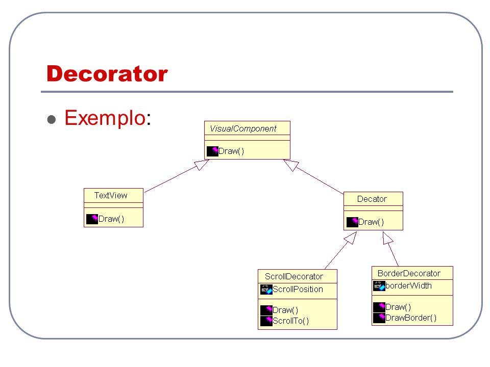 Decorator Exemplo: