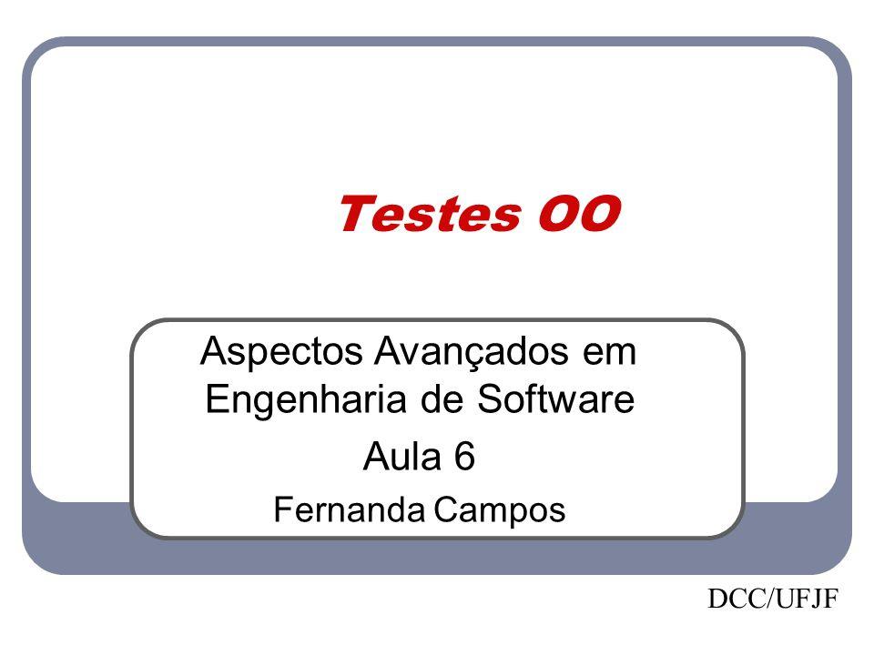 Aspectos Avançados em Engenharia de Software
