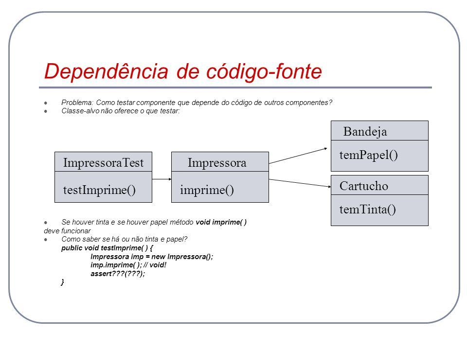Dependência de código-fonte