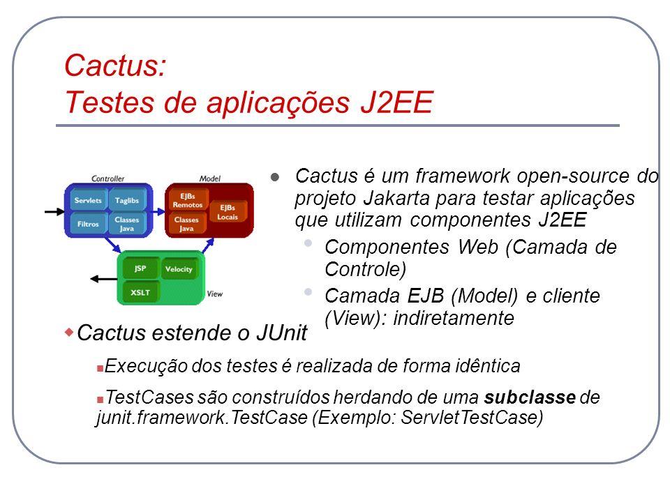 Cactus: Testes de aplicações J2EE