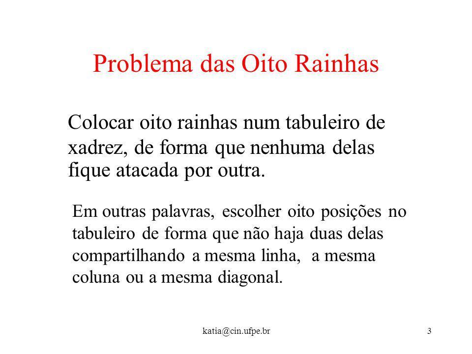 Problema das Oito Rainhas