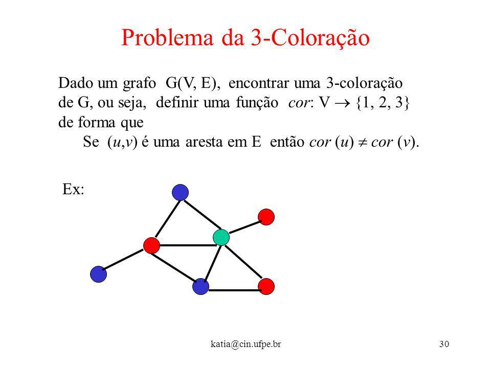 Problema da 3-Coloração