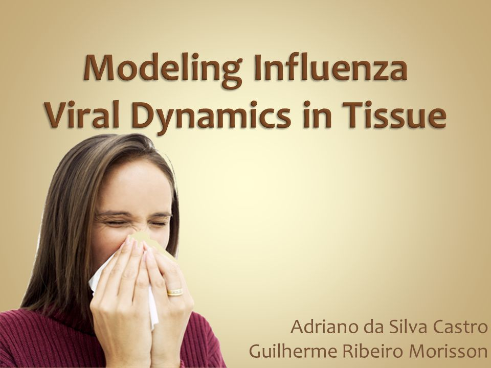 Modeling Influenza Viral Dynamics in Tissue