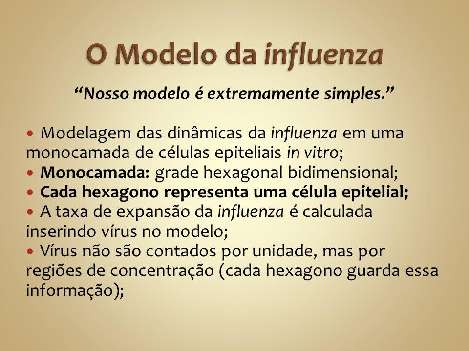 Nosso modelo é extremamente simples.