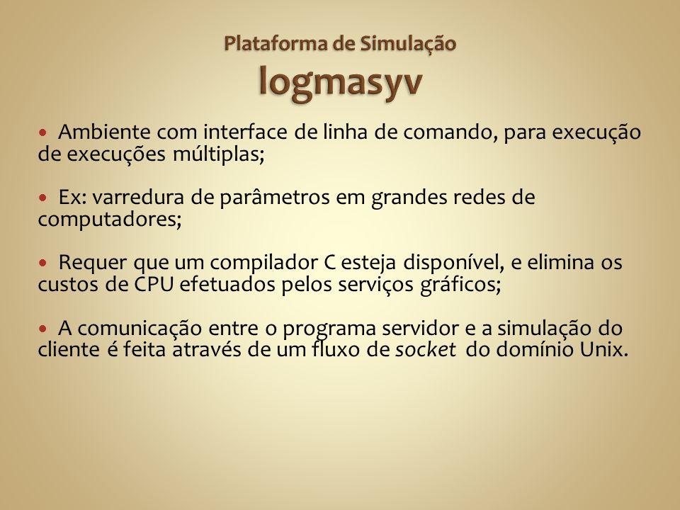 Plataforma de Simulação logmasyv
