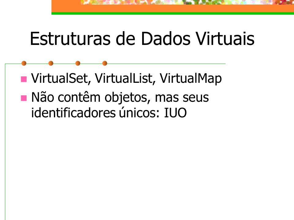 Estruturas de Dados Virtuais
