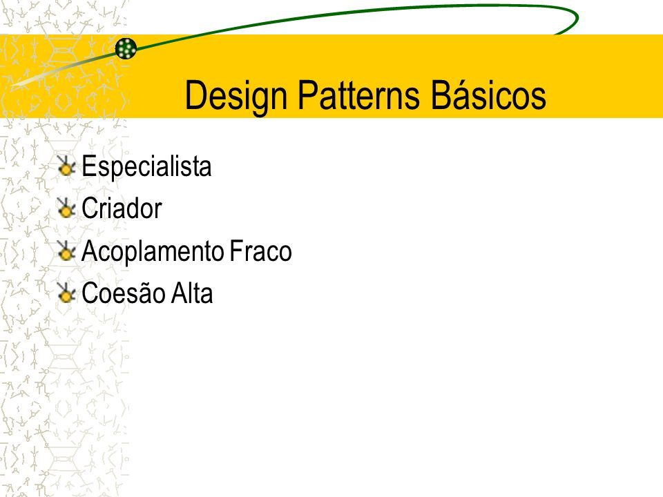 Design Patterns Básicos