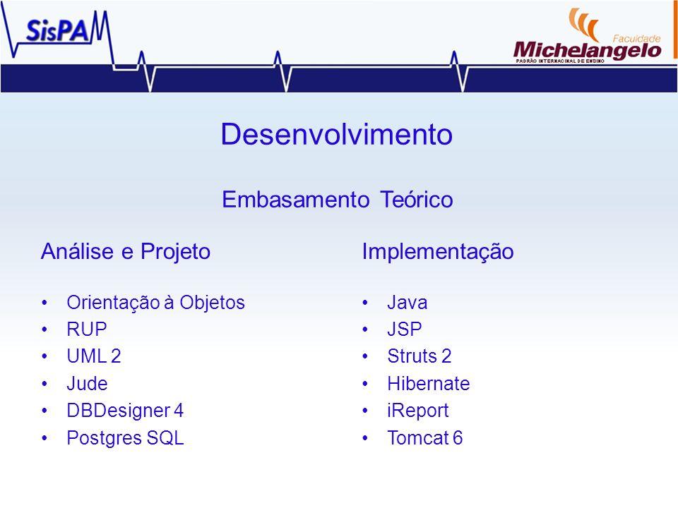 Desenvolvimento Embasamento Teórico