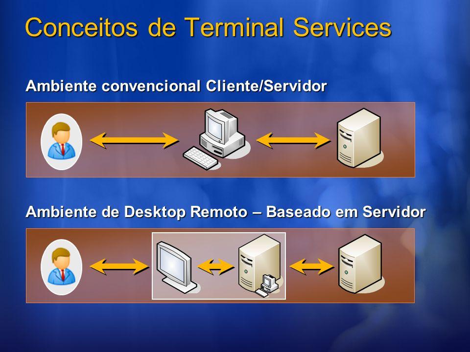 Conceitos de Terminal Services