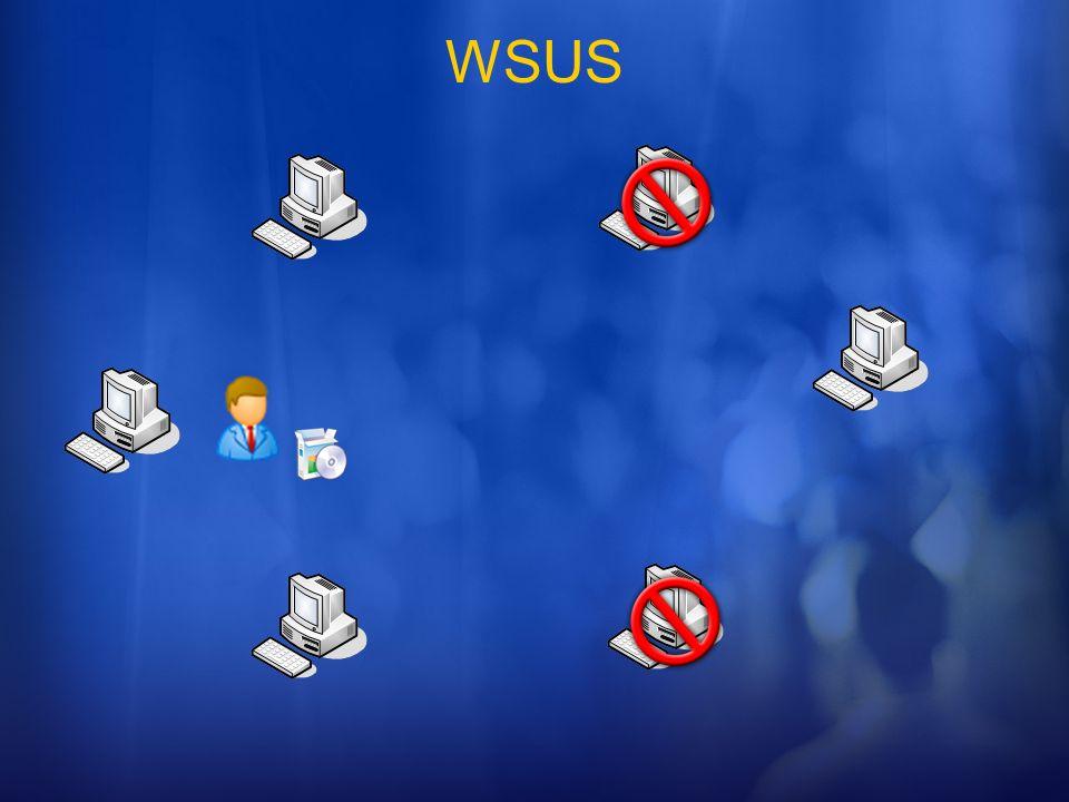 WSUS Esta slide pode comecar assim:
