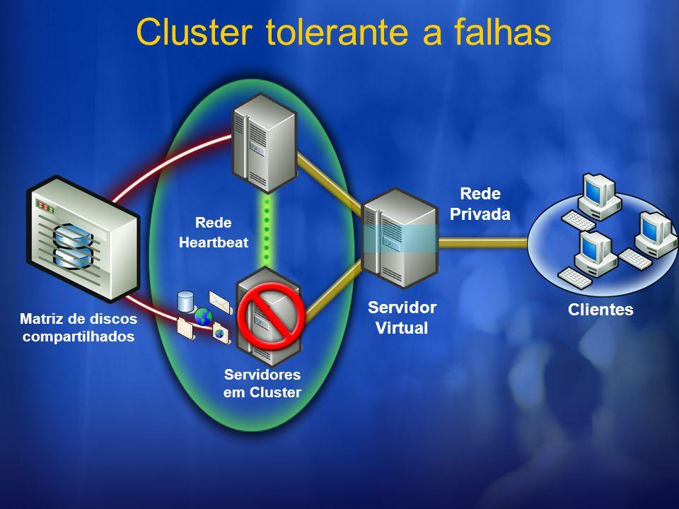 Matriz de discos compartilhados