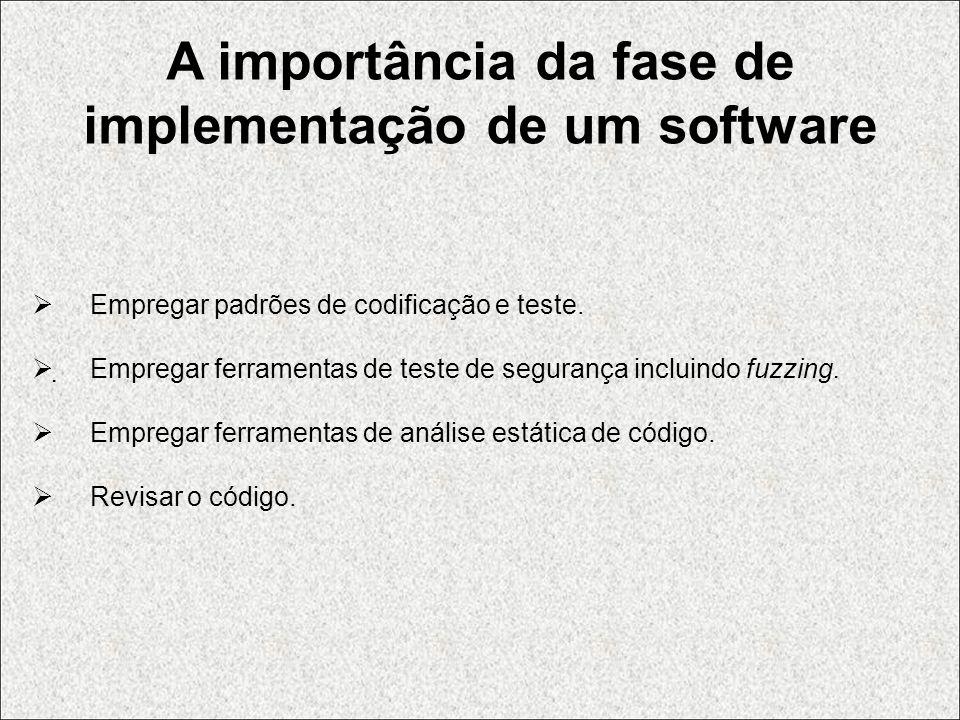 A importância da fase de implementação de um software