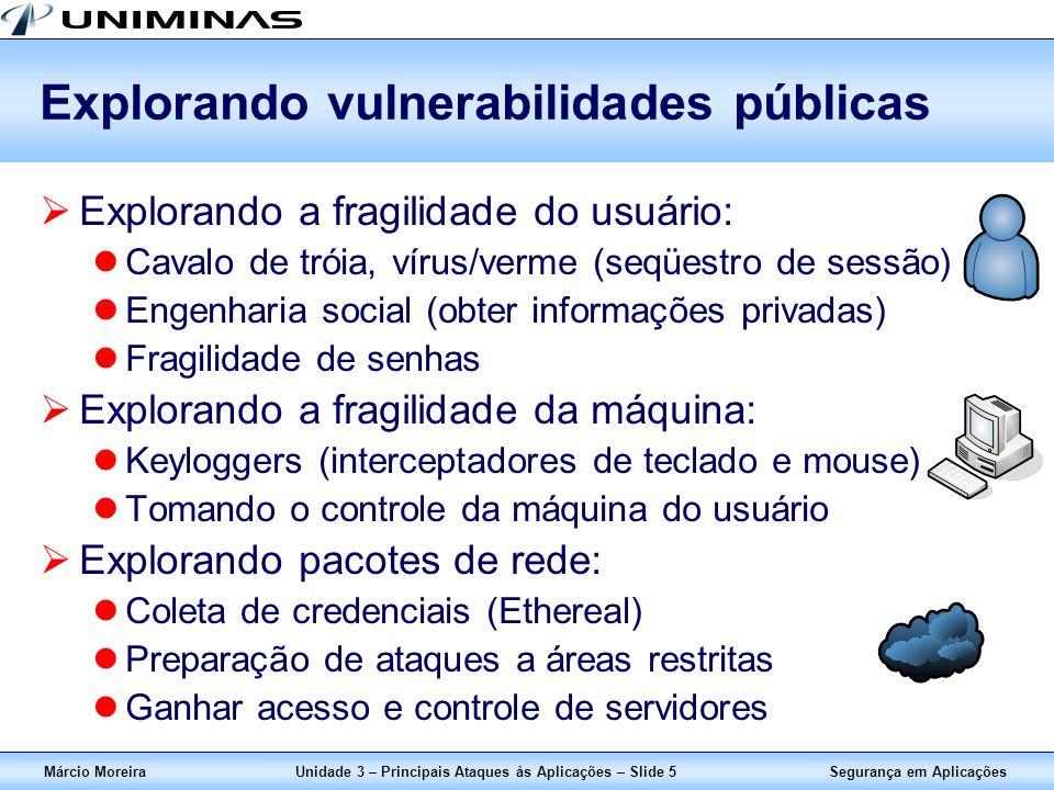 Explorando vulnerabilidades públicas