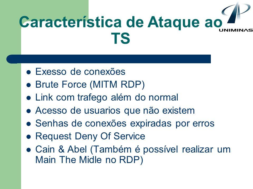 Característica de Ataque ao TS