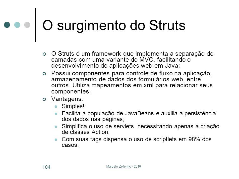 O surgimento do Struts