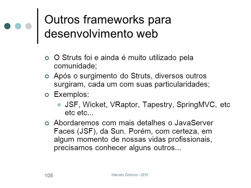 Outros frameworks para desenvolvimento web