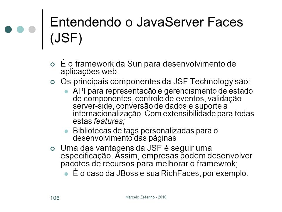 Entendendo o JavaServer Faces (JSF)