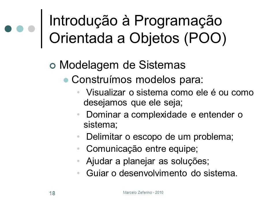 Introdução à Programação Orientada a Objetos (POO)