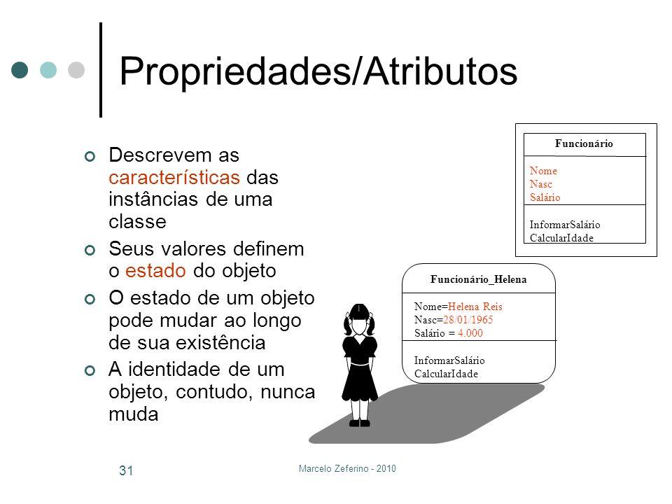 Propriedades/Atributos